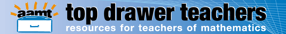 Top Drawer Teachers. Resources for teachers of mathematics