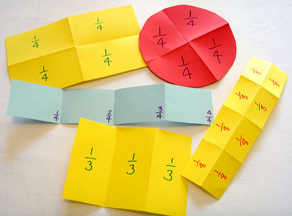 Paper Folding Number Of Parts Only Misunderstandings